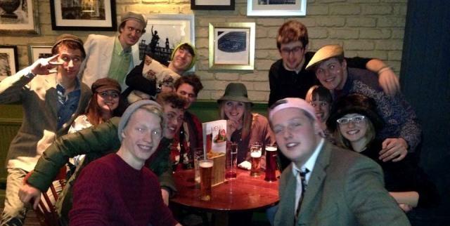 group of Leeds university students