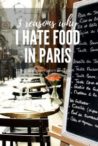 Paris food pinterest image
