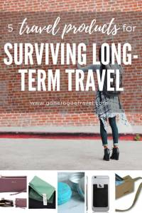 travel products for solo travel pinterest image