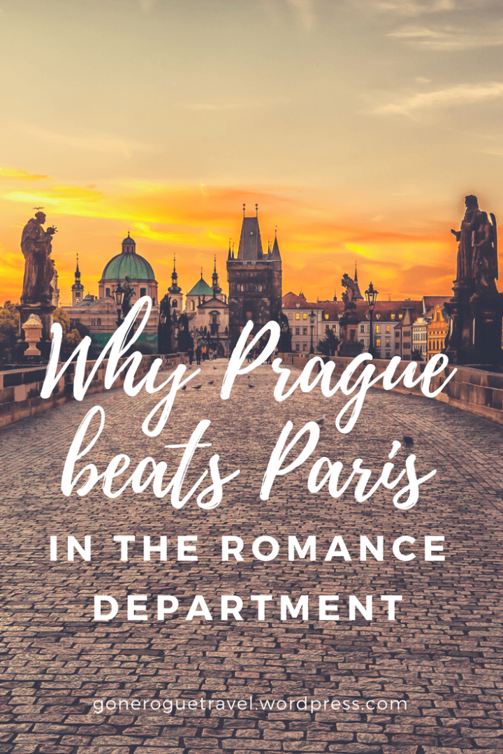 charles bridge in Prague and why it's better than Paris wording