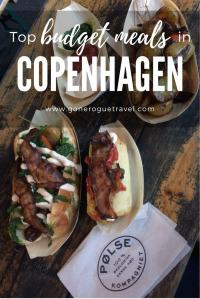 top budget meal of Polse in Copenhagen