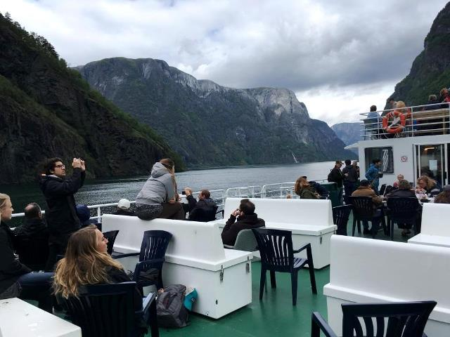 Norway in a Nutshell cruise boat group