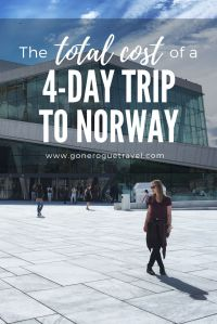 pinterest norway travel expense image