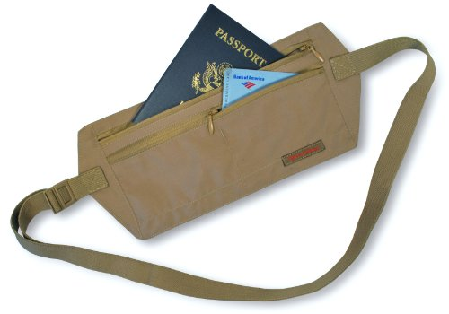 Rick Steves money belt for solo travelling