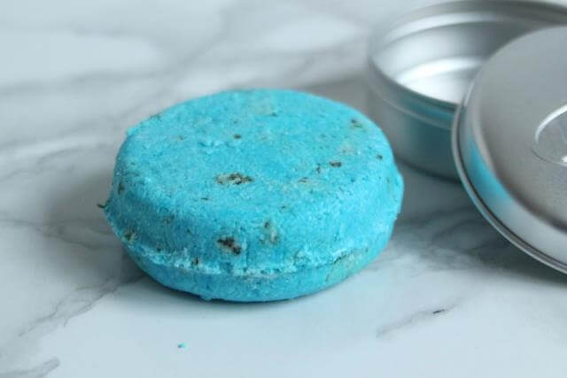 travel shampoo bar from Lush