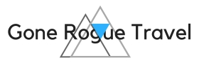 Gone rogue travel logo