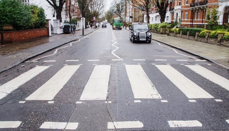 Visiting Abbey Road in London