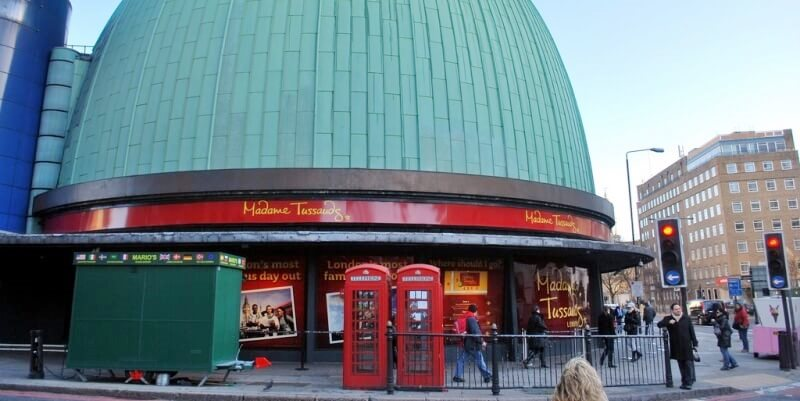 London Madame Tussauds exterior