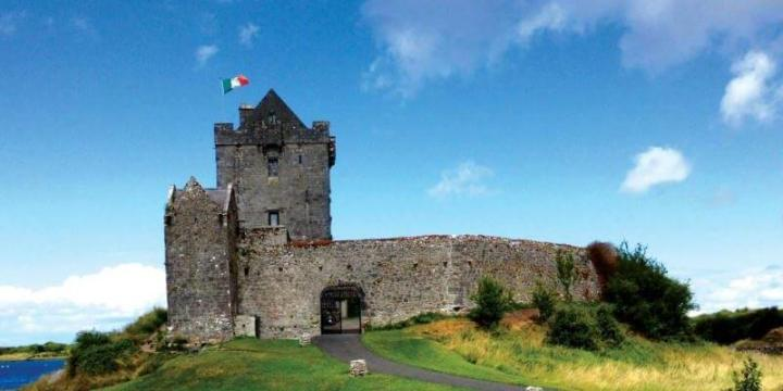 Irish castle activity cycling holidays