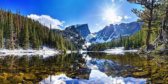 Rocky Mountain National Park landscape road trip