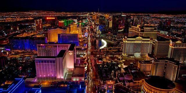 Las Vegas during road trip