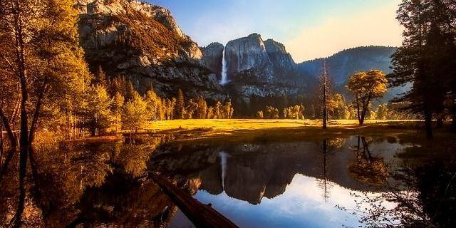 Yosemite National Park road trip